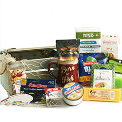 Fathers Day Fishing Basket