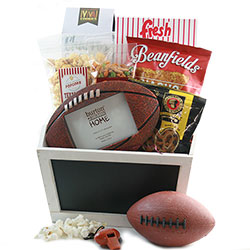 Football Frenzie Sports Gifts for Him Gift Baskets