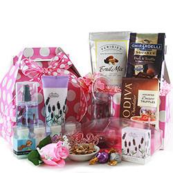 Forget Me Not - Valentines Gift Basket