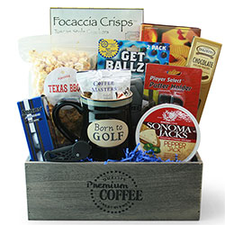 Retirement gift baskets retirement gifts for women men diygb front 9 golf gift basket solutioingenieria Gallery