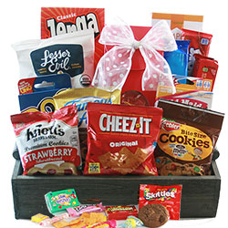 Game Night Family Gift Basket