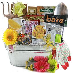 Garden Goddess - Gardening Gift Basket