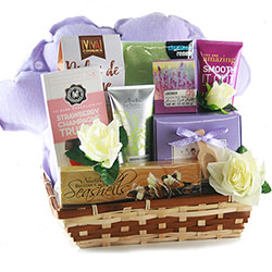 Spa Getaway - Spa Gift Basket