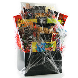 Ghostly Goodies - Halloween Gift Basket