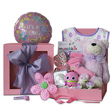 Ribbons & Bows New Baby Gift Baskets