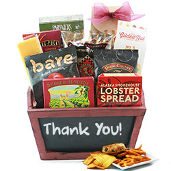 Grand Gourmet Thanks - Thank You Gift Basket