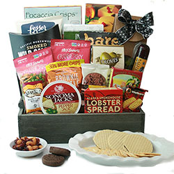Grand Elegance - Gourmet Gift Basket