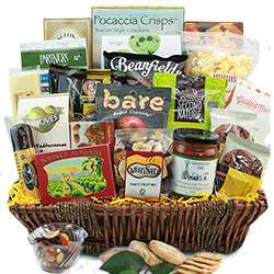 Grand Gourmet Christmas Gift Baskets