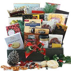 Grand Gourmet Christmas - Christmas Basket