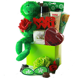 Green with Envy - Spa & Pamper Basket
