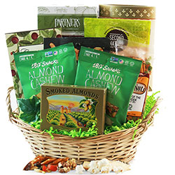 Healthy gift baskets organic gluten free kosher diygb guiltless pleasures healthy gift basket negle
