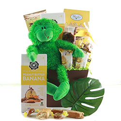 Hang In There Get Well Gift Basket