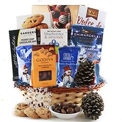 Hanukkah Time - Hanukkah Gift Basket