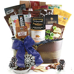 Happy Hanukkah Holiday Gift Baskets