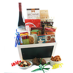 Hats Off to You - Wine Gift Basket