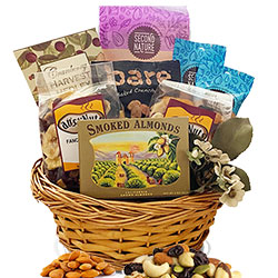 Healthy Snacks - Healthy Gift Basket