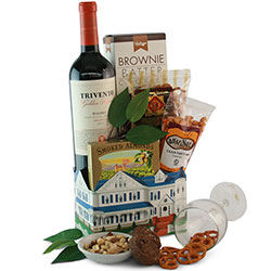 Hearty Hospitality Wine Baskets