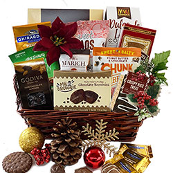Holiday Bliss Christmas Gift Baskets