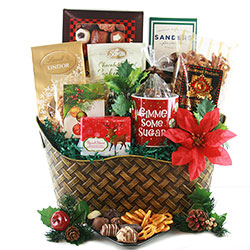 Holiday Celebrations - Holiday Gift Basket