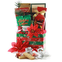 Holiday Decadence Christmas Baskets