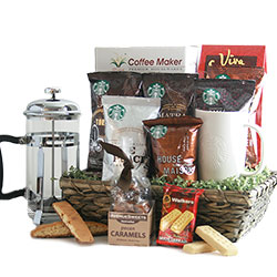 Hot off the Press Coffee Gift Baskets