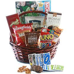 Hunker Down Snack Gift Basket