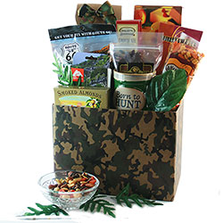 A Hunting We Will Go - Hunting  Gift Basket