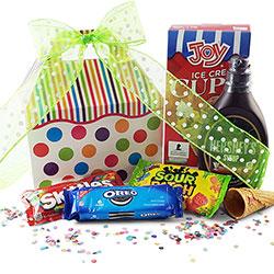 Ice Cream Social - Ice Cream Gift Basket