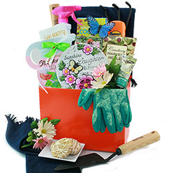 Garden Basket Ideas lots of gift basket ideas for various occasions crafts pinterest I Dig Gardening Gardening Gift Basket