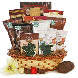 Jump Start <BR> Coffee Gift Basket - Coffee Gift Basket