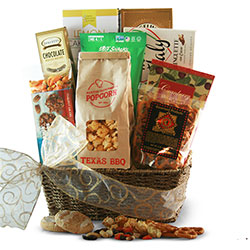 Just a Snack - Snack Gift Basket