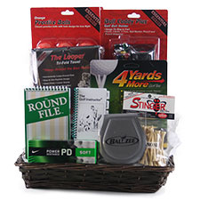 Just Fore You - Golf Gift Basket