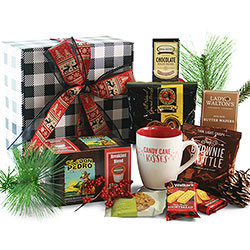 K-Cup Christmas - Christmas Coffee Gift Basket