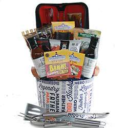 King of the Grill - Fathers Day Grilling Basket