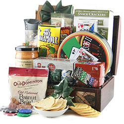 Lady Luck - Poker Gift Basket