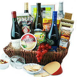 Le Connoisseur Wine Gift Baskets