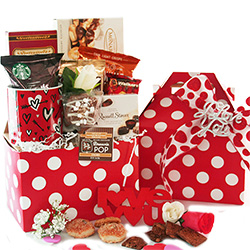 Love and Chocolate Gift Basket