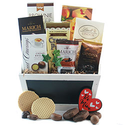 For the love of Chocolate - Chocolate Gift Basket