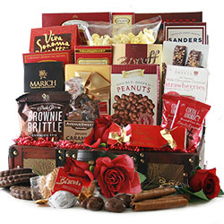 Expressions of Love - Valentines Gift Basket