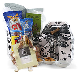 Mans Best Friend Dog Cat Pet Gift Baskets