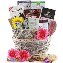 Mothers Day Chocolate Gift Basket