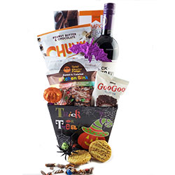 Monster Mash Halloween Basket