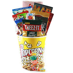 Movie Mania - Movie Gift Basket