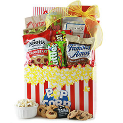 Movie Gift Baskets Ideas For Movie Night Baskets Diygb