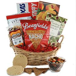 Munch & Crunch Snack Gift Basket