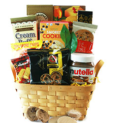 Nutella Lover - Snack Gift Basket