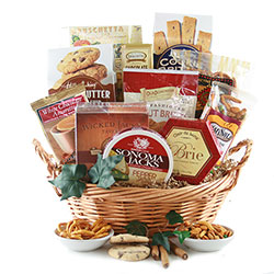 Over the Top Gourmet Food Gift Baskets