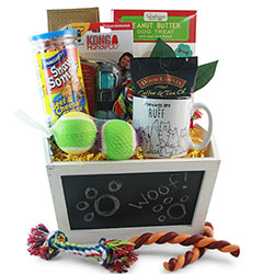 Pampered Pets - Dog Gift Basket