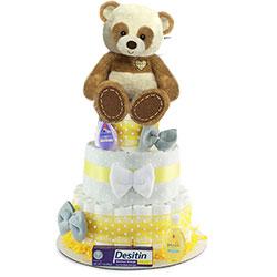 Panda-Mania  Diaper Cake