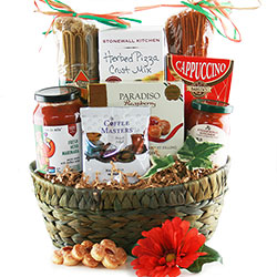 Pizza & Pasta Perfect - Italian Gift Basket